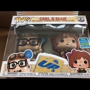 New Carl & Ellie Funko POP SDCC Shared Exclusive